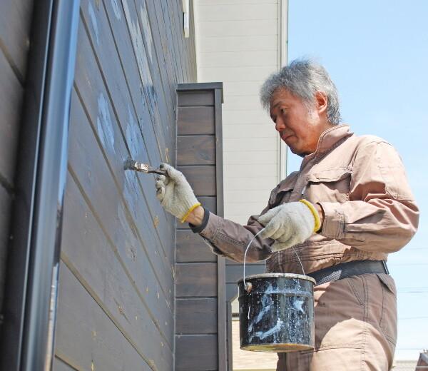 外壁塗装の季節